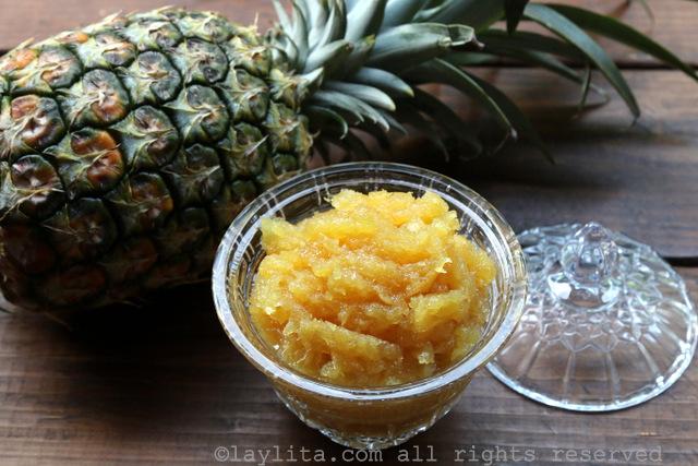 菠萝果酱或蜜饯