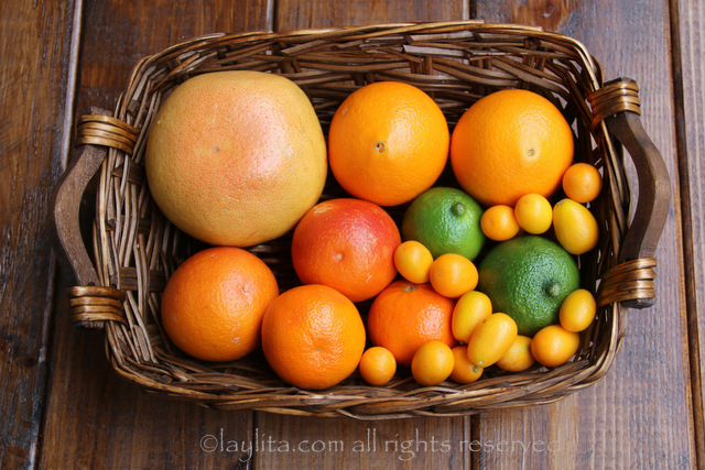 柑橘类水果的酱