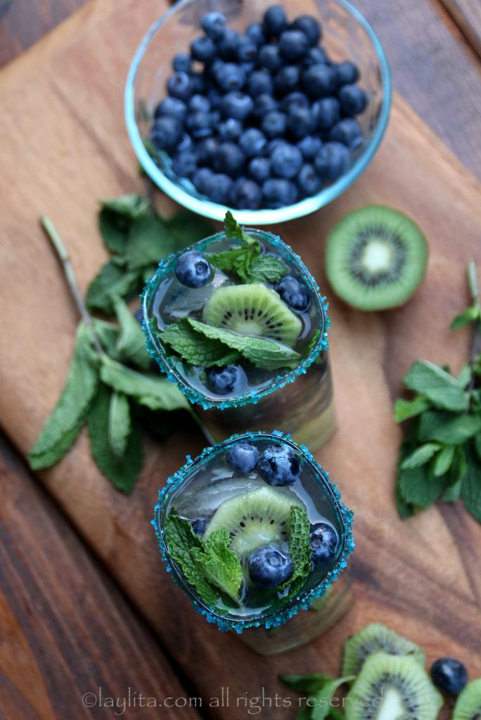 存奇异果蓝莓的第12人莫希托