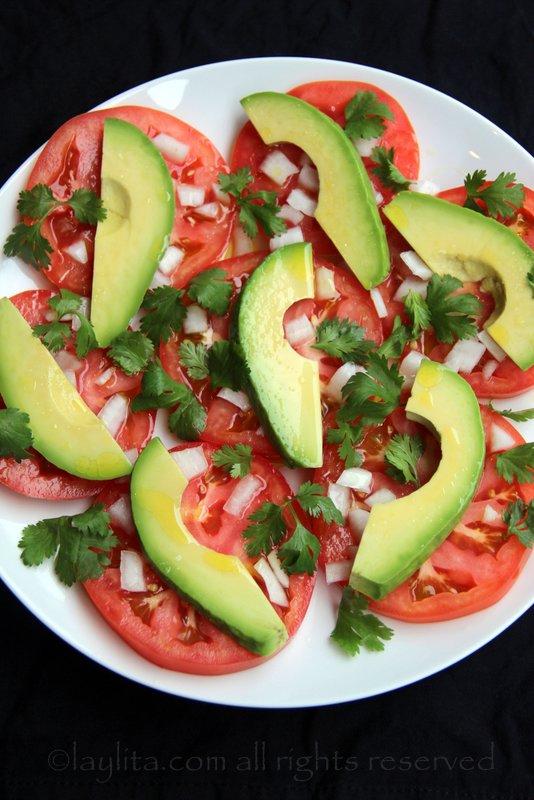牛油果番茄沙拉