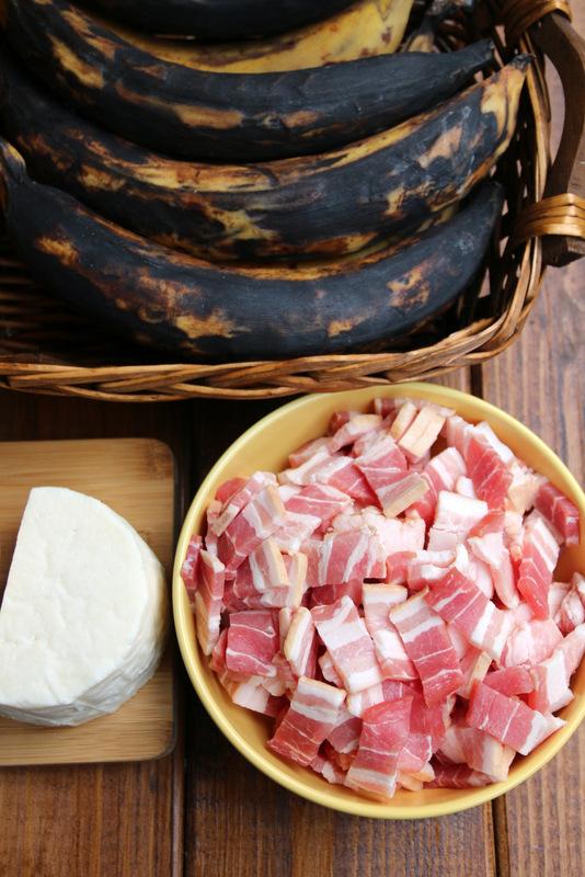 培根、大蕉和奶酪是完美搭配