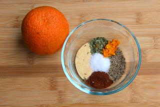 柑橘腌料的食材