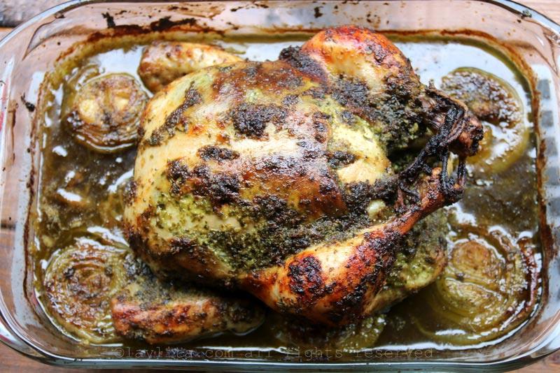 奇米秋里酱烘烤鸡