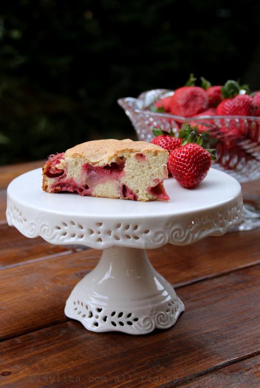 自制草莓蛋糕