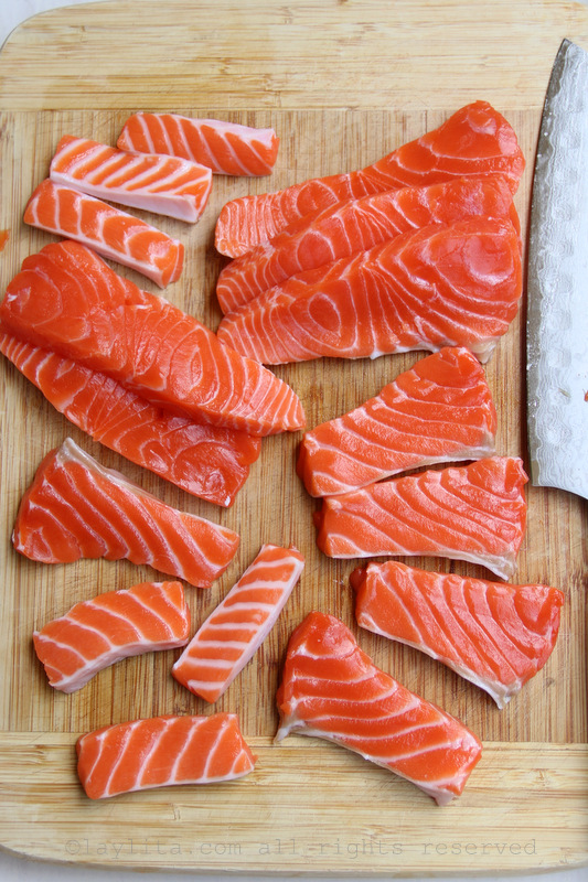 鞑靼三文鱼