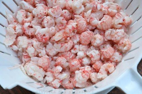 海蟹虾的小馅饼,也可用小龙虾/虾