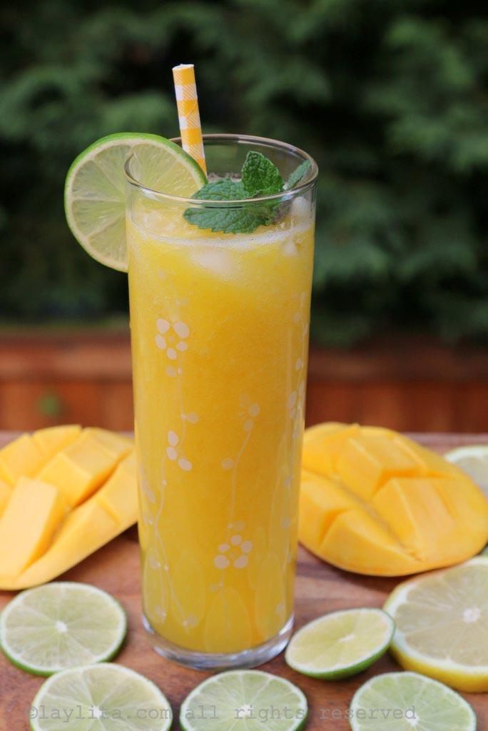 芒果青柠汁