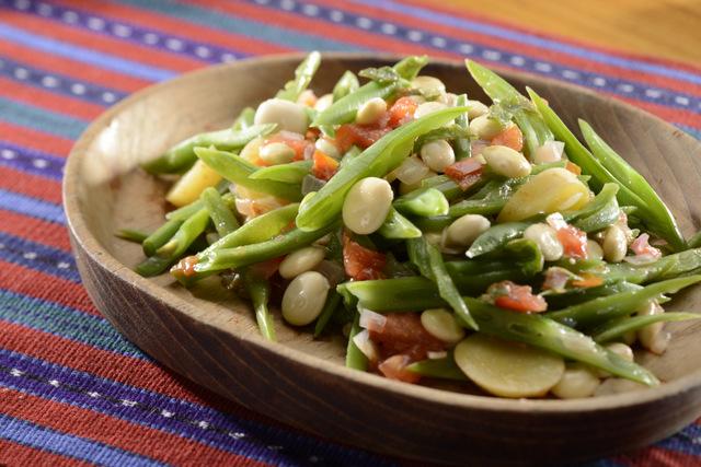 羽扇豆绿豆沙拉