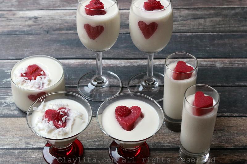 意式椰香莓奶冻