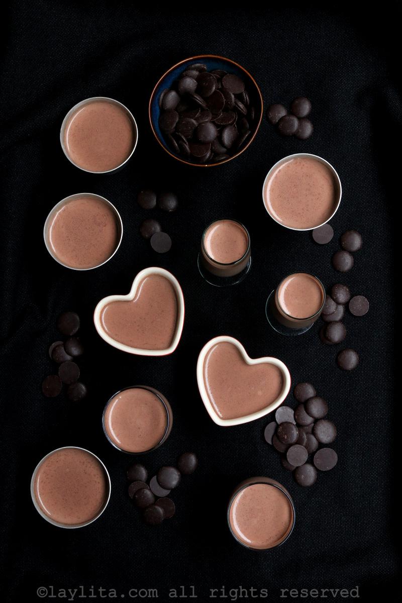 意式巧克力奶冻