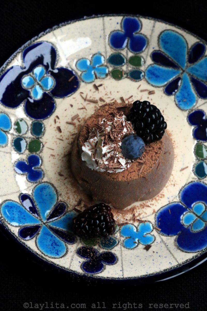 柔滑巧克力甜品